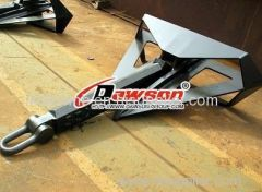 welded delta flipper anchor for marine/ship/vessel/boat