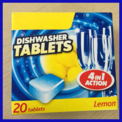 Water soluble film Blanquita clean high quality cheap dishwasher tablets