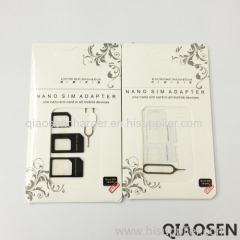 Unlimited 3 in 1 Nano sim card adapter for mobile phone