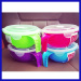 the most portable silicone rubber microwave collapsible bowl The microwave bowl