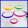 5Pcs Plastic Crisper Box Round Crisper