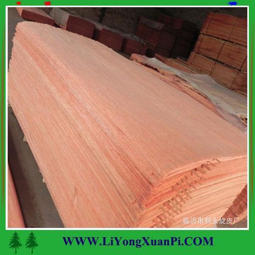 wood veneer cherry cabinet face veneer for decoration