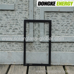 Solar LED glass with float