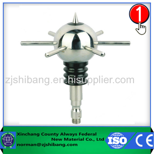 Optimized Stainless Steel ESE Lightning Rod