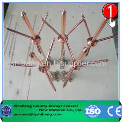 Cuivre Bonded acier inoxydable Mulit-point de Air Rod