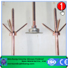 Early Discharge Copper And Stainless Steel Lightning Protection Rod