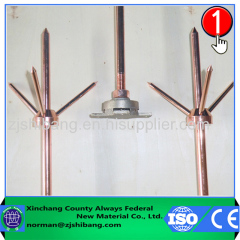 Copper lightning arrester application