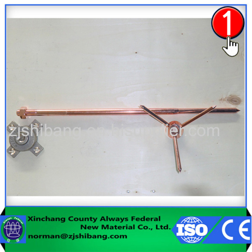 Copper rod 15mm lightning protector