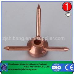 Cobre descargador de alta tensión descargador de sobretensión