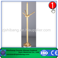 Copper lightning rod of lightning protection electrical equipment