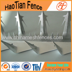 Anti-Climb Hot-dipped Galvanized Steel Wall Spikes