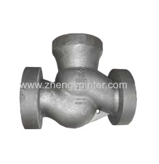 Carbon Steel ANIS Globe Valve Casting Parts