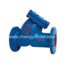Ductile Iron Gost Y Strainer Body Casting Parts OEM