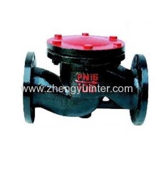 Grey Iron Check Valve Casting Parts OEM
