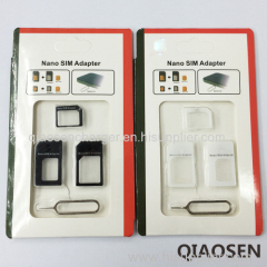 Super low price hot sales Nano sim card adapter for cellphone