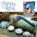 battery powered electric spin personal care body spa shower brush