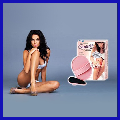 Sundepil hair removal pads smooth away vibe hair remover
