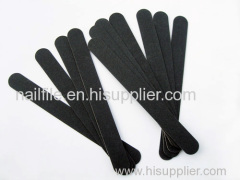 black nail file wood emery board
