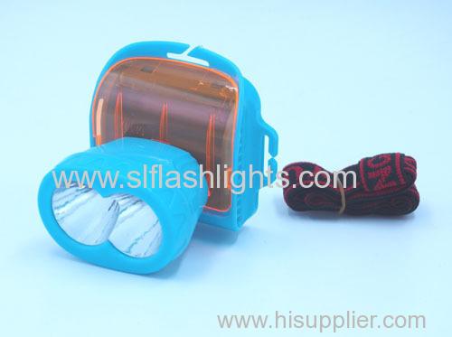 Plastic 2LED Head Light 3*Dry Battery