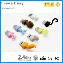 8 kinds of animal tails cute shape wireless mouse