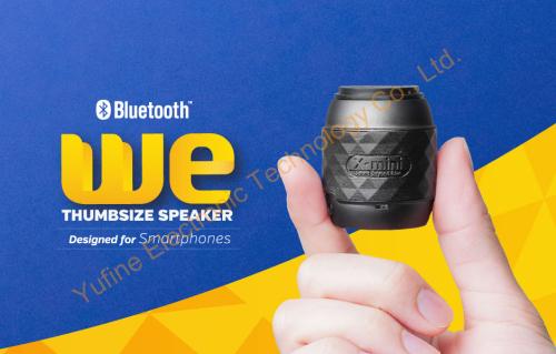 Most small wireless Bluetooth speaker X-mini We Bluetooth speaker