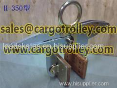 Slab stone scissor clamps pictures