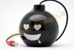 Supply bomb mini speaker bomb gift speaker Sales Promotion Electronic products cheap gift speaker from Yufine factory
