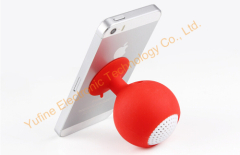 wholesales mini adsorption speaker mini wineglass speaker sucking disk speaker silicone mini speaker cheaper gift s