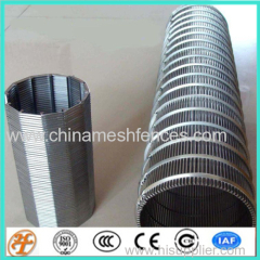 Stainless Steel filtration Various shapes welded wedged wire screen