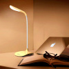 Rechargeable eye protection leaning desk bedroom bedside student use energy-saving small LED table lamp