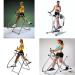 Fitness body building equipment indoor air walker