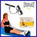 T-shaped pilates rowing action exerciser
