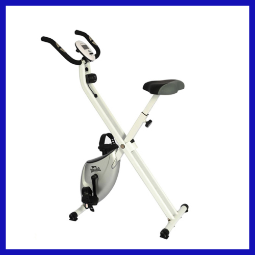 Folding X magnetic exercise bike for home use
