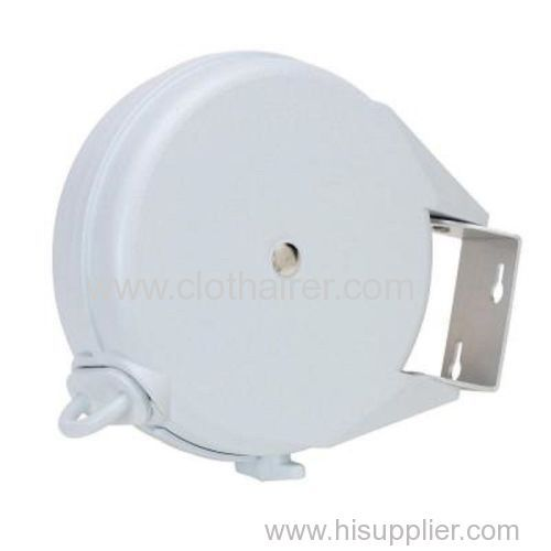 12 Meter Drying Space Plastic Retractable Clothesline Wall Mounted