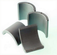 Segment Turbine Arc Ferrite Magnets For Wind Power Generator NdFeB
