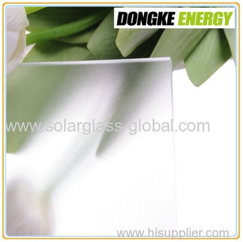 4.0mm low iron solar tempered glass