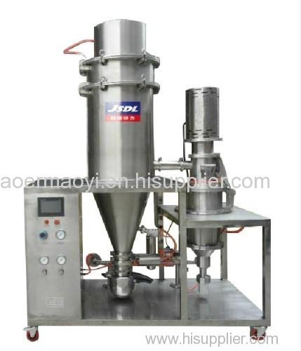 Laboratory equipment micronizer jet mill