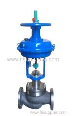 Hastelloy pneumatic control valve