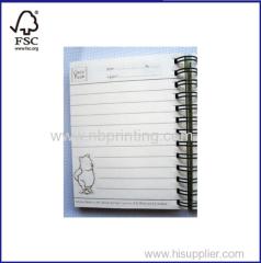 Professional Manufacturer Supply Best Price Spiral School Notebook