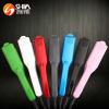 Portable titamium ptc plate mini travel short car hair straightener hair iron styling tools