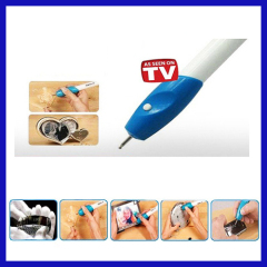 Electronics Engraving Pen DIY Engrave it Engraving tool Electric Carving Pen Machine Graver Tool Engraver as seen as on