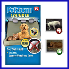 Car Use Pet Pad Petzoom Loungee dog car mat