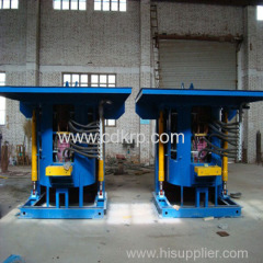 medium frequency scrap iron induction furnace