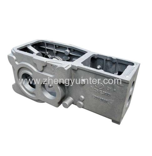 Ductile Iron Engine Body Casting Parts OEM