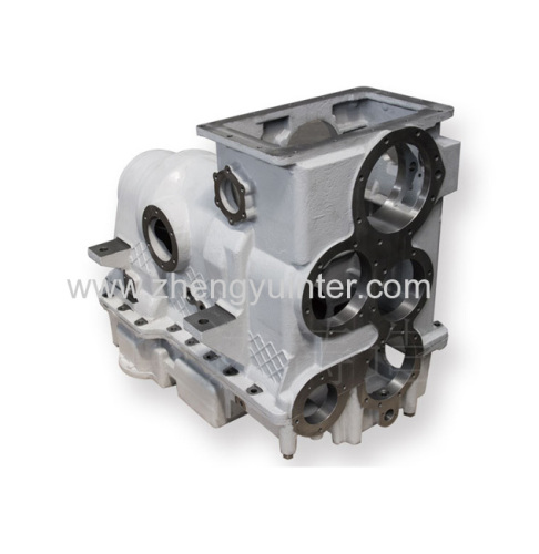 Miscro Casting Ductile Iron Engine Shell Casting Parts