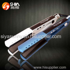 professional nano titanium hair styling tools hair straightener flat iron with superior quality