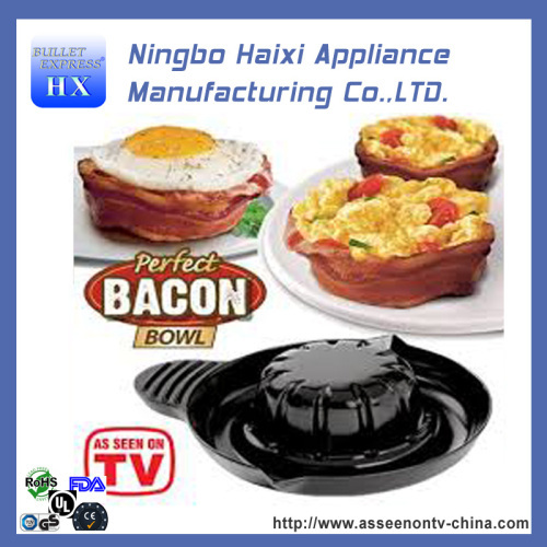 everything tastes better in a new functional bacon processing and making machine bakeware salad bowl