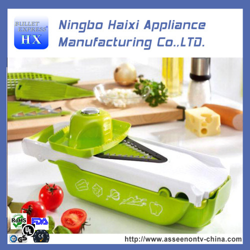 5 in 1 5pcs speed chopper as seen on tv vegetable and fruit slicer