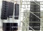 Concert Line Array Speaker Church Sound Equipment , church audio systems