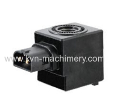 Thermosetting solenoid valve coil